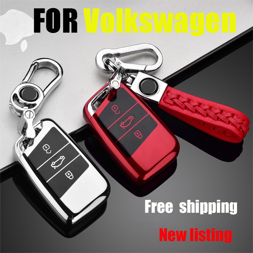 ZOBIG Soft TPU Protection Remote Key Cover Case For Skoda Superb A7 For Volkwagen Passat B8 VW Golf Car Stylin