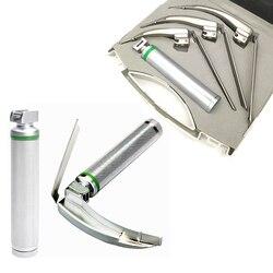 Mccoy flexi Tip интегрированные обычные шарнирные ларингоскопы 3 Лезвия ВОЛОКОННО-оптическое освещение хирургические инструменты