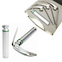 Mccoy flexi Tip Integrated conventional articulated Laryngoscopes 3 blades Fiber Optic Illumination surgical instruments