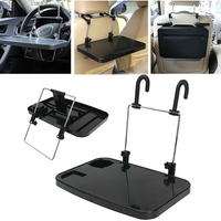 Folding Car Computer Desk Work Table in Car Laptop Stand Food Tray Drink Holder|Tablet Stands| |  -