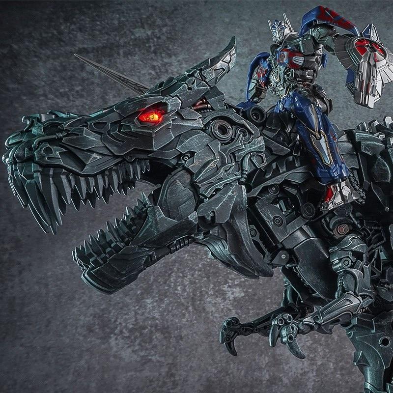 WJ Transformation KO Grimlook Legierung Film Film Oversize Vergrößert SS07 Dinosaurier Führer Alte Action Figur Spielzeug Collcetion Geschenke