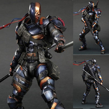 26cm DC Comics Movie Figures Character Deathstroke Play Arts Model toys PVC collectible Action figure toys gift for kids стоимость