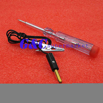 DC 6V-24V 12V Auto Car Motorcycle Circuit Voltage Tester Pen New diy electronics image