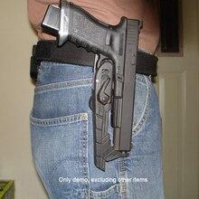 Тактическая универсальная скоростная кобура IPSC, ремень для магазина, Четырехцветная стандартная для пистолета, внешняя фотовспышка