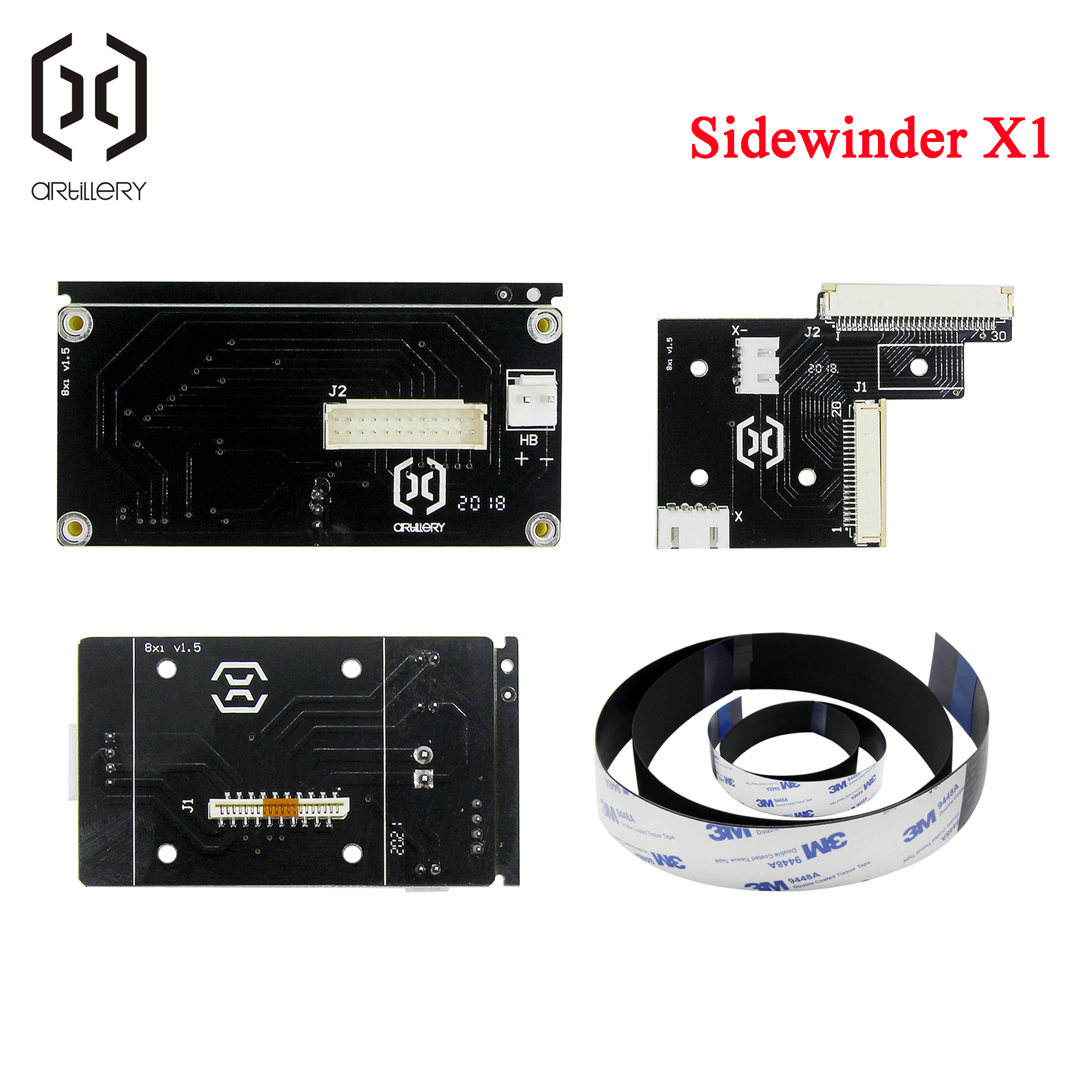 2020! suitable for Artillery 3D printer Sidewinder X1 and GeniusPCB board cable kit