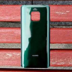 Image 4 - מקורי חזרה הסוללה כיסוי שיכון עבור Huawei Mate 20 פרו Mate20 פרו סוללה חזרה אחורי זכוכית מקרה