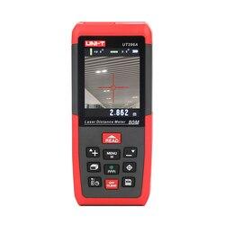 UNI-T UT396A profesjonalna laserowa odległość mierniki Lofting Test poziomowanie Instrument powierzchnia/objętość przechowywanie danych Max 80m 2MP Camera