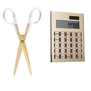 Image 1 - Acrylic Gold Stationery Series  ) Scissors 1) Acrylic  Solar Energy Calculator