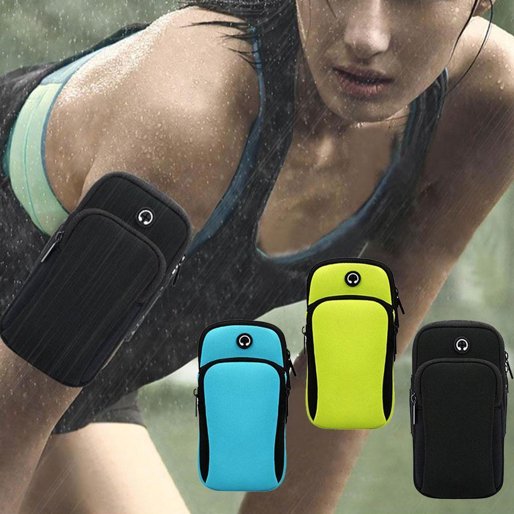 Running sports phone armbands For outdoor sports mobile pocke outdoor armbands fitness arm sports armbands sports phone arm V4T8