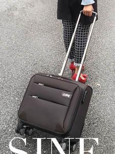 14/16/18/20inch Boarding-Box Suitcase Luggage Business-Valise-Bag Universal-Wheel Oxford