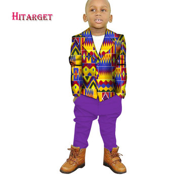 Danshiki african children clothing for boys top +pants suits Wedding Costume enfant Garcon mariage Boys Blazer two piecesWYT208 nimble suit for boy terno infantil costume enfant garcon mariage boys suits for weddings costume garcon mariage boy suits formal