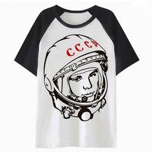 СССР CCCP Советский Союз Россия футболка уличная одежда длиной до бедер забавная Мужская футболка для топ мужской хоп harajuku одежда PF4848