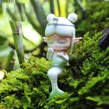 Doll Figures Blind-Bag Guess-Bag Toys Anime Cute Ciega Gift Zodiac Model Caja Mermaid