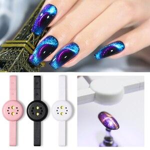 Image 5 - Mini sèche vernis à ongles blanc, 6W, LED, Machine USB, pour usage domestique, outil de Design pour Nail Art