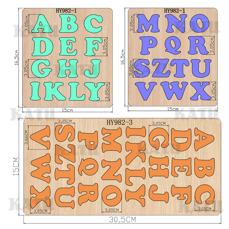 Letter Cutting Dies 2019 New Die Cut &wooden Dies Suitable  For Common Die Cutting  Machines On The Market