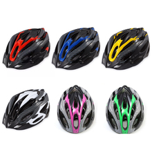 Bike Cycle Helmet Skate Road Cycling Racing Safety Protection Helmet Bicycle Safety Riding Helmet With 54-62cm Adjustable Strap mtb road cycling helmet ultralight protector adults bicycle helmet in mold adjustable size safety bike helmet size 56 62cm