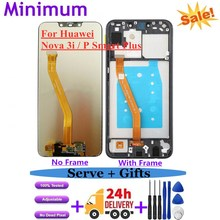 """For Huawei Nova 3i 6.3"""" LCD Display Touch Screen Digitizer Assembly With Frame For Huawei P Smart Plus INE LX1 INE LX2 INE L21"""