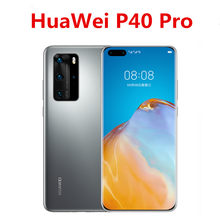 "Global Version HuaWei P40 Pro 5G Cell Phone 6.58"" 90HZ 8GB RAM 256GB ROM 50.0MP 40W Charger IP68 Kirin 990 Android 10.0(China)"
