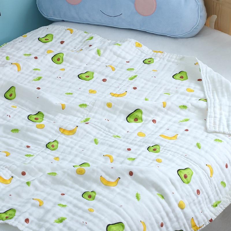 Baby Gauze Bath Towel Six-layer Children's Quilt Cotton Children's Bath Towel Absorbent Children Baby Blanket