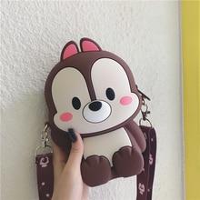 Luxury Handbags Cute Crossbody Bags For Women Cartoon Soft Silicone Designer Shoulder Korean Style Girls Messenger