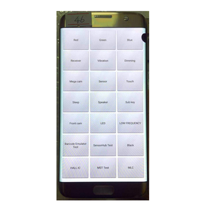 Image 2 - Pantalla lcd Original AMOLED de 5,5 pulgadas para Samsung Galaxy S7 edge, G935U, G935F, pantalla táctil, digitalizador con punto negro y línea