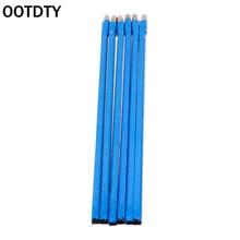 OOTDTY 6 шт. регулируемый стальной двойной бандаж стержень 418 мм для электрогитары lutier двухсторонний