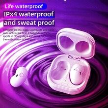 DODOCSAE S6 سماعات لاسلكية بلوتوث 5.1 سماعات مع ميكروفون سماعة ستيريو القلب ل IOS سامسونج براعم لايف