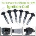 6 шт. катушки зажигания 4606869AB для Chrysler Dodge 4.0L 2.7L 3.5L 2006-12010 OEM UF502 UF-502 4606869AA 44BAB86 610-00108