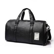 Gym-Bag Sport-Bags Fitness Yoga Shoes Luggage-Shoulder Travel Sac-De-Sport Training Black
