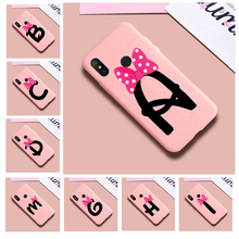 Custom name shell letters TPU Soft Phone Case for h