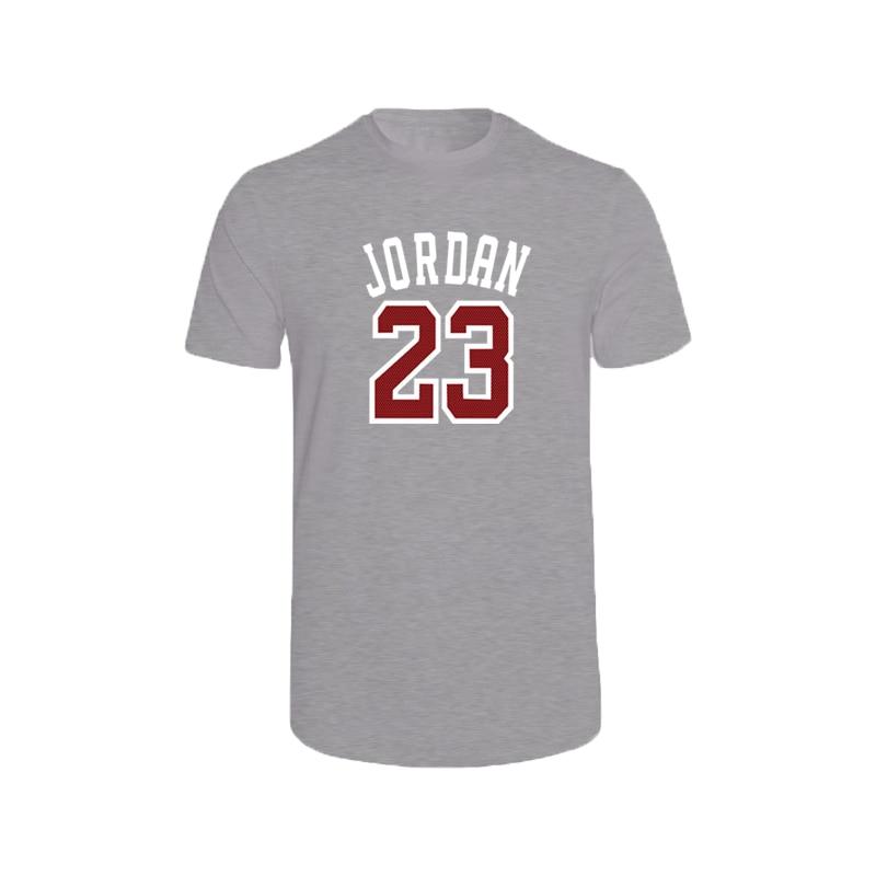 2020 lato nowy marka Jordan 23 drukuj męska koszulka najwyższej jakości bawełna Hip Hop koszulka z krótkim rękawem męska O Neck topy Tee Shirt