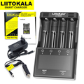 2020 liitokala Lii-500S Lii-PD4 18650 carregador de bateria para 18650 26650 21700 baterias testar a capacidade da bateria controle de toque