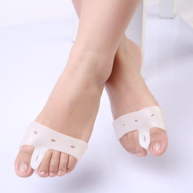 1pair=2pcs Genuine New Special Hallux Valgus Bicyclic Thumb Orthopedic Braces Toe Corrector Daily Silicone Toe Big Bone Bunion