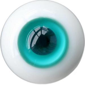 [wamami] 6mm 8mm 10mm 12mm 14mm 16mm 18mm 20mm 22mm 24mm Aqua Glass Eyes Eyeball BJD Doll Dollfie Reborn Making Crafts