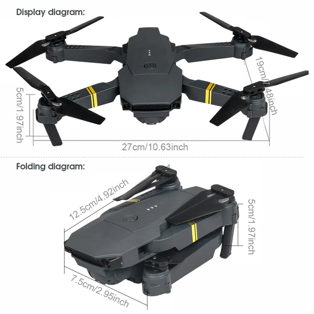EMOTION DRONE 2.0 in-built 4k HD Professional Camera with Bag 5