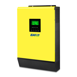 Image 4 - EASUN POWER 5000w Hybrid Solar power inverter 48v 230vac Grid gebunden + off grid 80A MPPT solar ladegerät 450vdc PV eingang