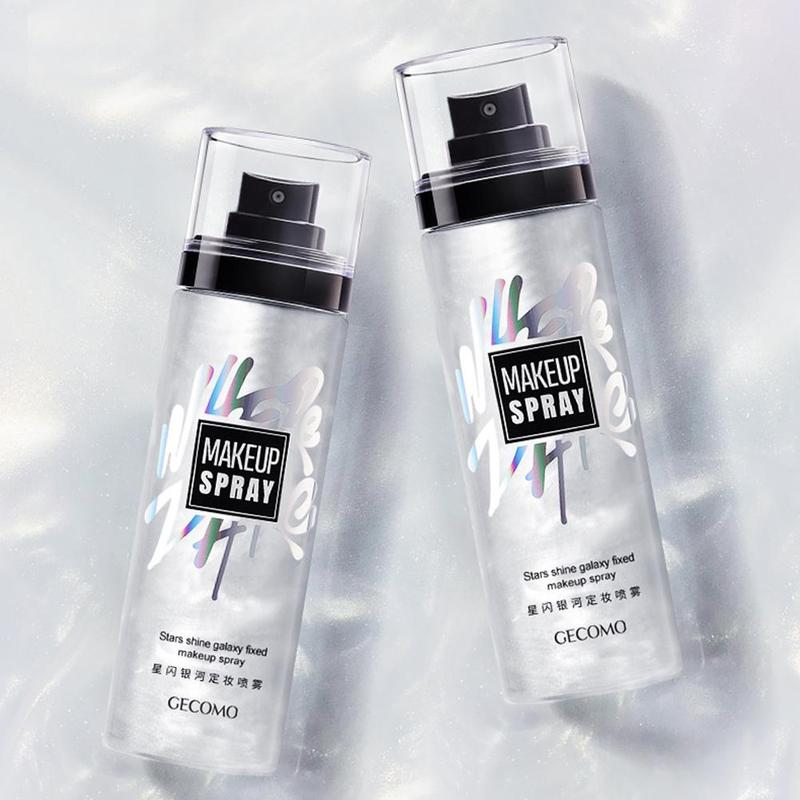 New Makeup Setting Spray 100ml Matte Face Foundation Star Galaxy Lasting Setting Moisturizing Oil Control Brighten Cosmetic image