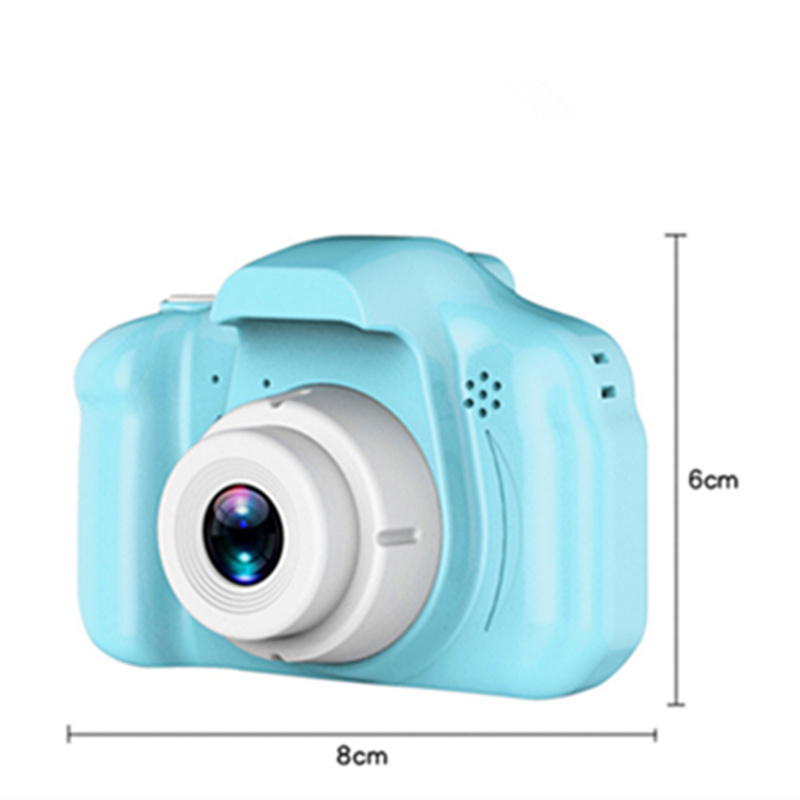 Kids Camera Toys 2 Inch HD Screen Chargable Photography Props Mini Digital Camera Birthday Gift Toys For Children Girls Boys