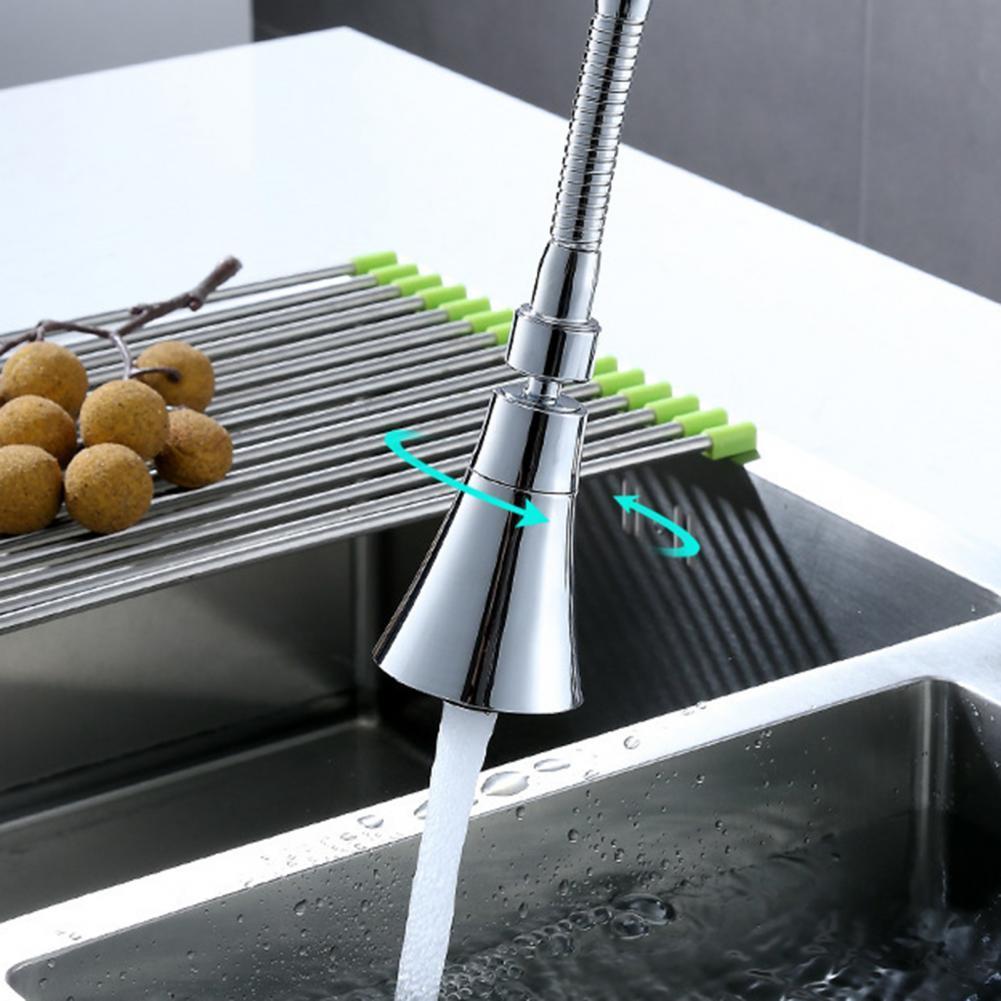 Кухня аэратор для крана покрытие поверхности 2 режима Пластик вытащить опрыскиватель водопроводной воды аксессуары и принадлежности для д...