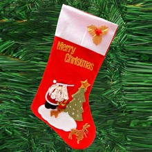 Candy Gift Bag Christmas Socks Cartoon Pattern Funny Meias Decoration Hanging Sock socks