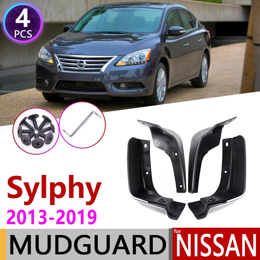 For Nissan Sentra Sylphy Pulsar 2013~2019 B17 Mudflap Fender Mud Guard Splash Flap Mudguard Accessories 2014 2015 2016 2017 2018