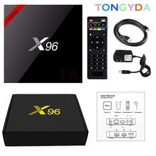 цена на X96 mini Smart Android TV BOX Amlogic S905W Quad Core 4K Media Player 2.4GHz WiFi 2GB 16GB 1G/8G X96mini Android 7.1 Set top box