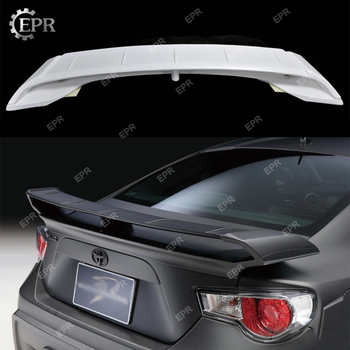 FRP Wing Lip Trim For BRZ FT86 FRS WD Style Glass Fiber Rear Trunk Spoiler Body Kit Tuning For FT86 BR-Z Racing Part