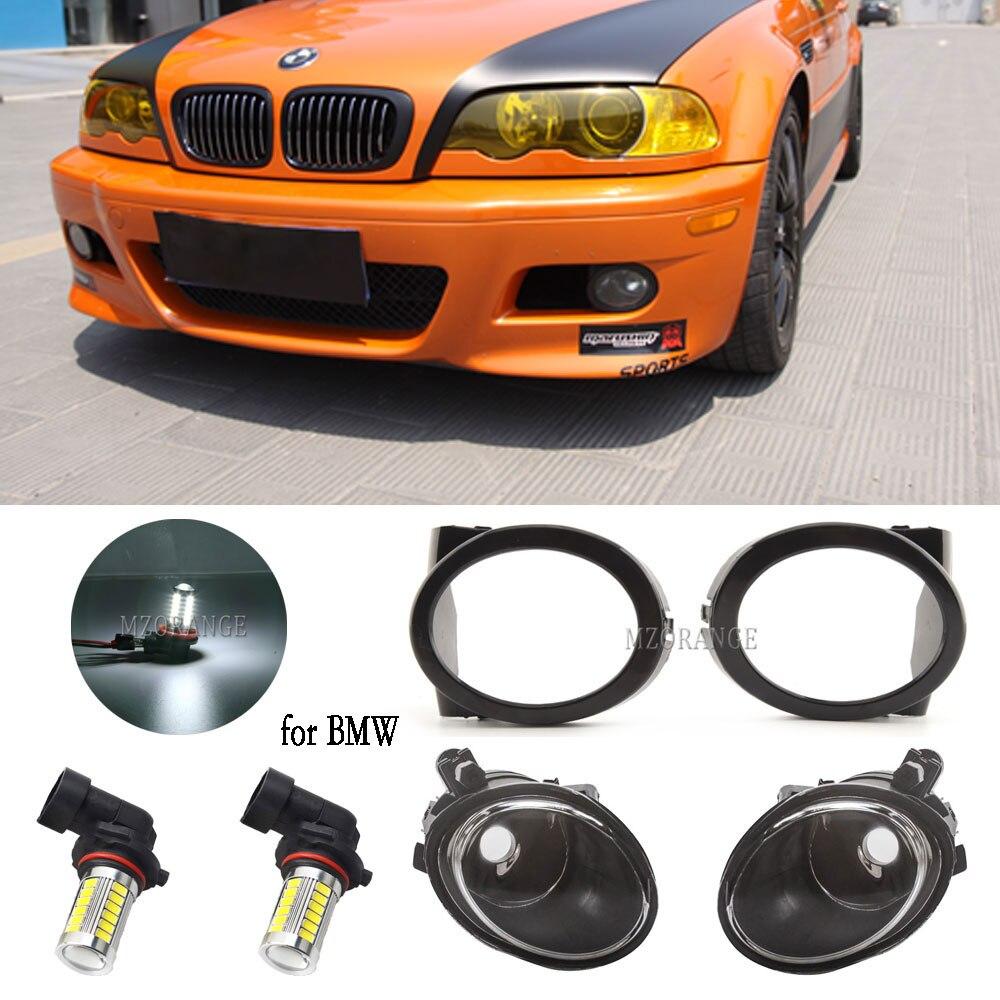 Туман светильник крышка гриль для BMW E46 3 серии M3 2001-2005 E39 M5 1995-2004 светодиодный противотуманный светильник s противотуманная фара вытяжки голо...