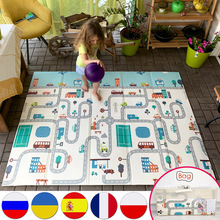 Carpet Children Play-Mat Educational-Toy Crawling Floor Foam Foldable Toddler Miamumi