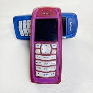 Image 2 - Darmowa wysyłka odnowiony oryginalny telefon komórkowy Nokia 3100 Unlocked i roczna gwarancja