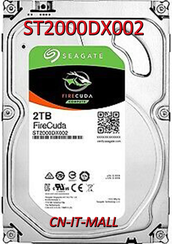 "Seagate FireCuda Gaming SSHD ST2000DX002 2TB 7200 RPM 64MB Cache SATA 6.0Gb/s 3.5"" Internal Hard Drive"