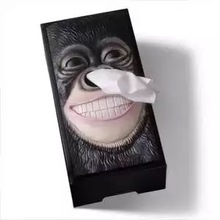 Soporte para caja de pañuelos faciales, dispensador de pañuelos faciales, cubierta de caja de pañuelos Vintage, caja de papel Rectangular para oficina, cocina, baño