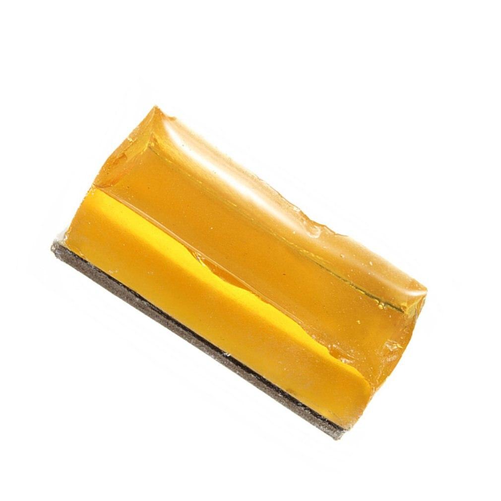 2Pc Small Carton Solid Rosin Soldering Iron Welding Flux Phone PCB BGA Repair High-Class Low Dust Yellow Rosin New