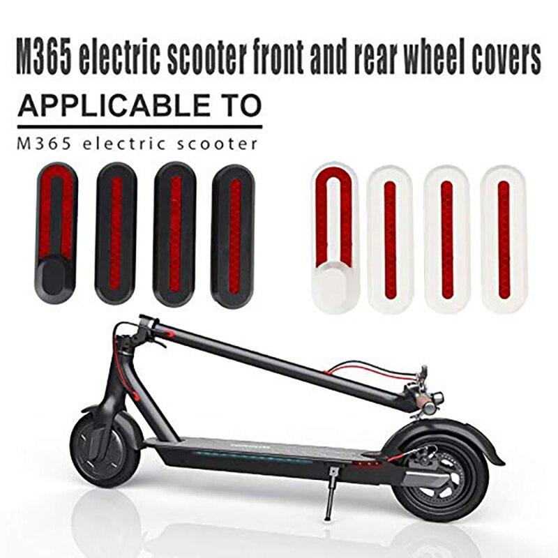 Защитный чехол для ступицы скутера, декоративный чехол с наклейками, запасные части для электрического скутера Xiaomi M365 Pro